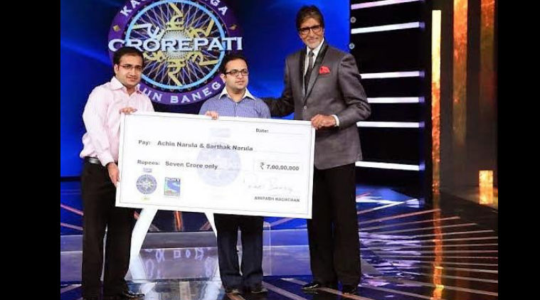 Achin says Amitabh Bachchan made sure they were at ease while playing the game.