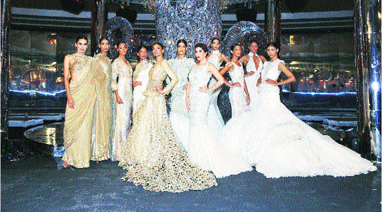 Going bling is Gangwani's signature style.