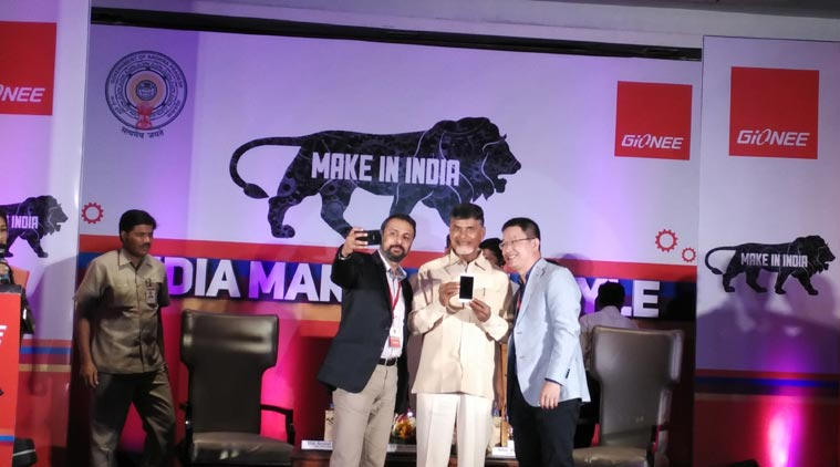 Gionee, Make In India, Gionee Make In India initiative, Gione F103, Gionee F103 smartphone, Andhra Pradesh, AP CM Chandrababu Naidu, Foxconn, Foxconn AP facility, mobiles, smartphones, mobile news, Android, gadget news, tech news, technology