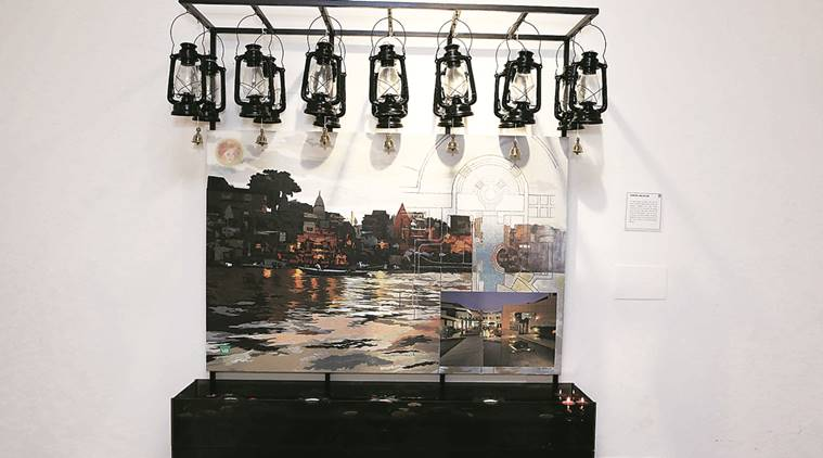 delhi, delhi exhibition, art exhibition, vidur bharadwaj, vidur bharadwaj exhibition, fatehpuri sikri, leed, indian express talk