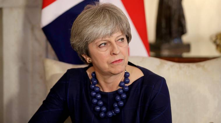 british prime minister theresa may, russia, international politics, world news, UK-Russia relations, poland, indian express