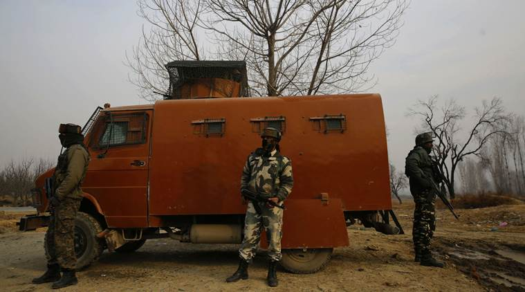 Search operation ends at CRPF camp