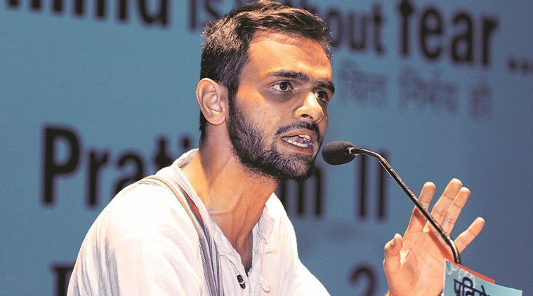 Khalid said he won't pay the fine imposed by JNU.