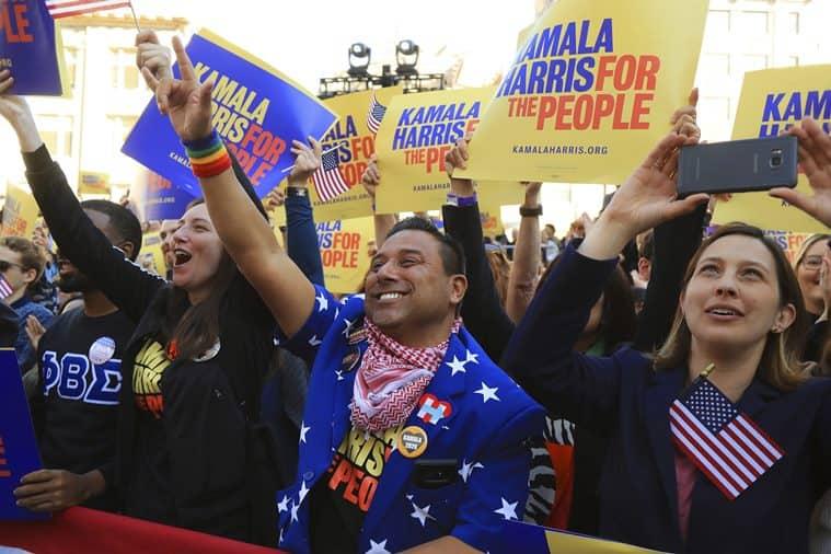 Kamala Harris kicks off 2020 campaign with Oakland Rally