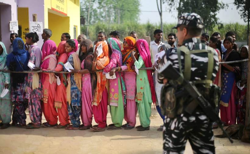 Voters throng polling booths as Phase 1 of Lok Sabha elections ends