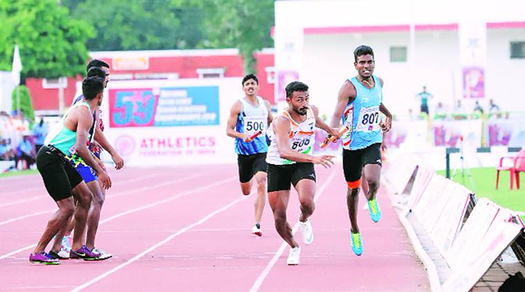 Muhammed Anas. athletics, relay race, athletic federation of India, sports news, indian express