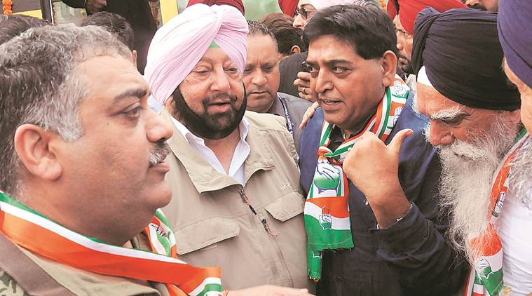Paramjit Singh Raipur, Paramjit Singh Raipur joins conress, sad leader joins congress, punjab news, indian express