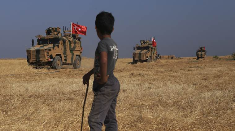 Thousands flee, hundreds reported dead in Turkish attack on US-allied Kurds in Syria