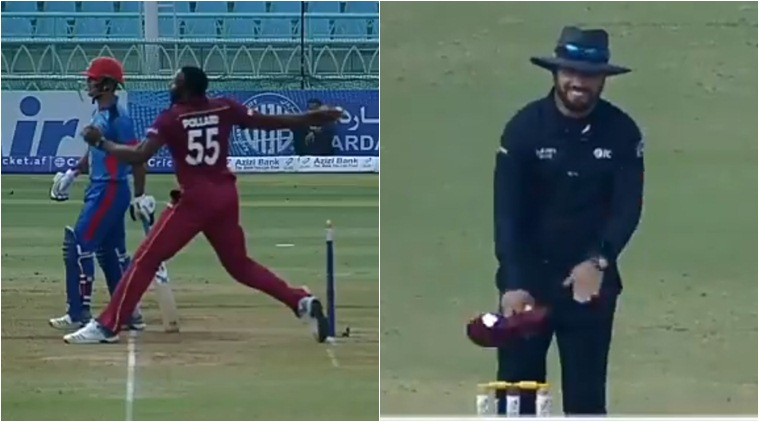 Watch: Kieron Pollard finds an innovative way to avoid no-ball, leaves umpire in splits