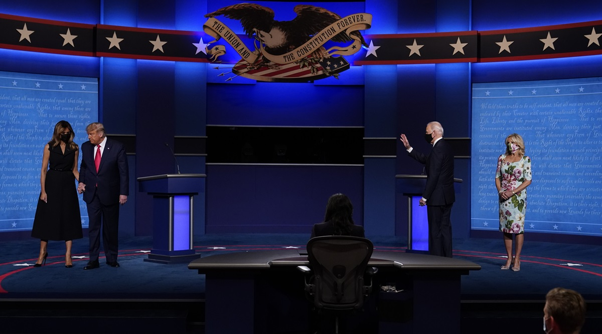 Final Presidential Debate Between Trump And Biden