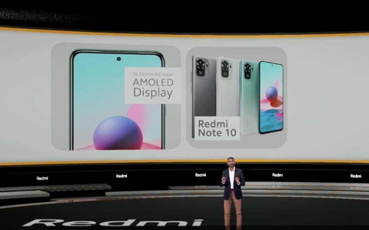 Redmi note 10 key features